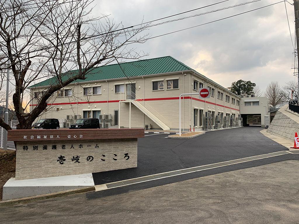 【窓装飾品】壱岐のこころ様新築工事【介護施設】