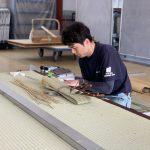 畳制作技能士 練習会