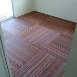 絨毯!?いいえ、畳です