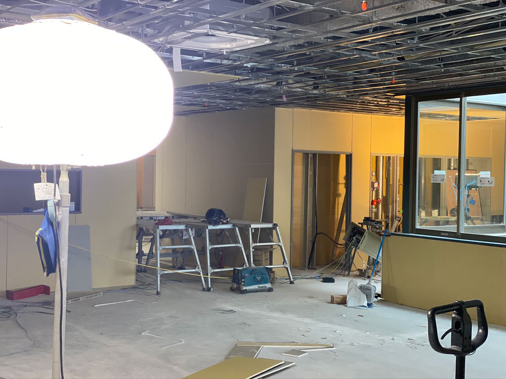 介護施設新築工事