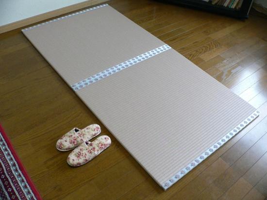 「わんぱく畳」樹脂タイプさくら色