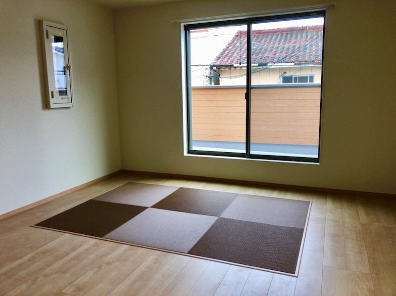 新築住宅の畳コーナー