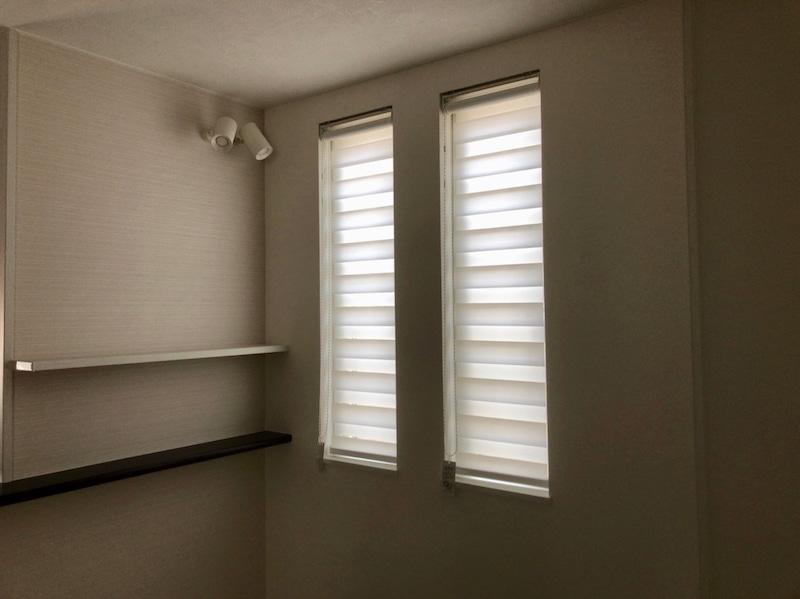 新築住宅の装飾品(窓周り)