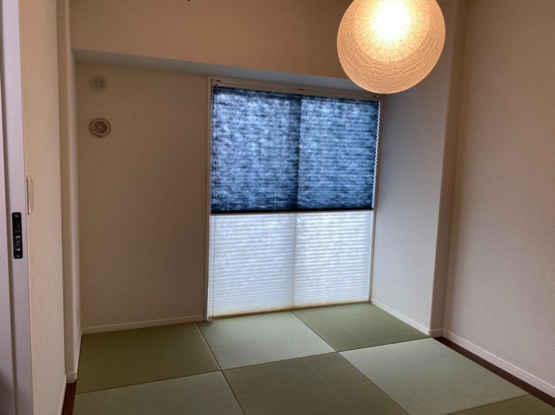 【置き畳】洋室を和モダンへ【窓装飾】