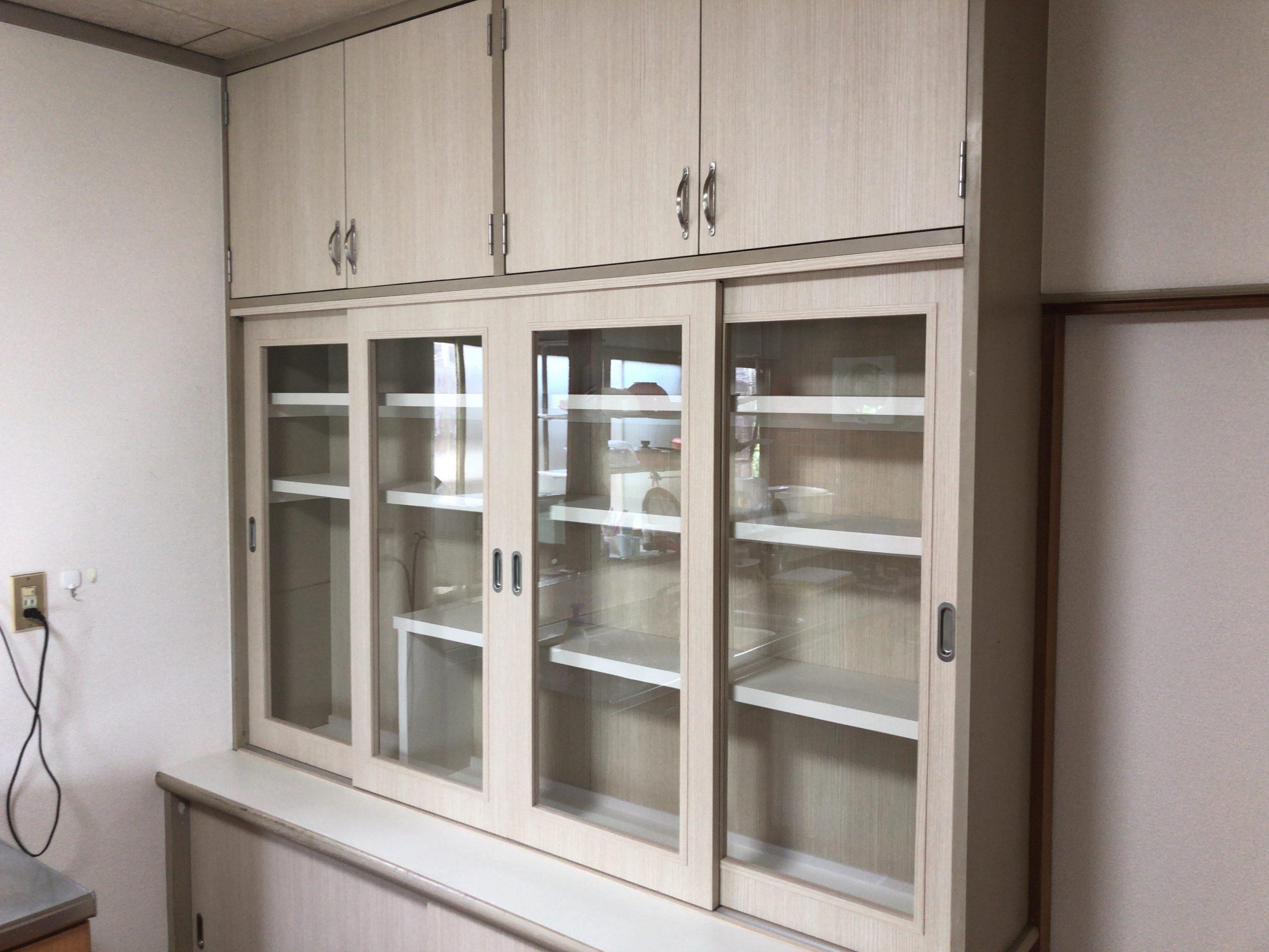 【リフォーム】備え付け食器棚