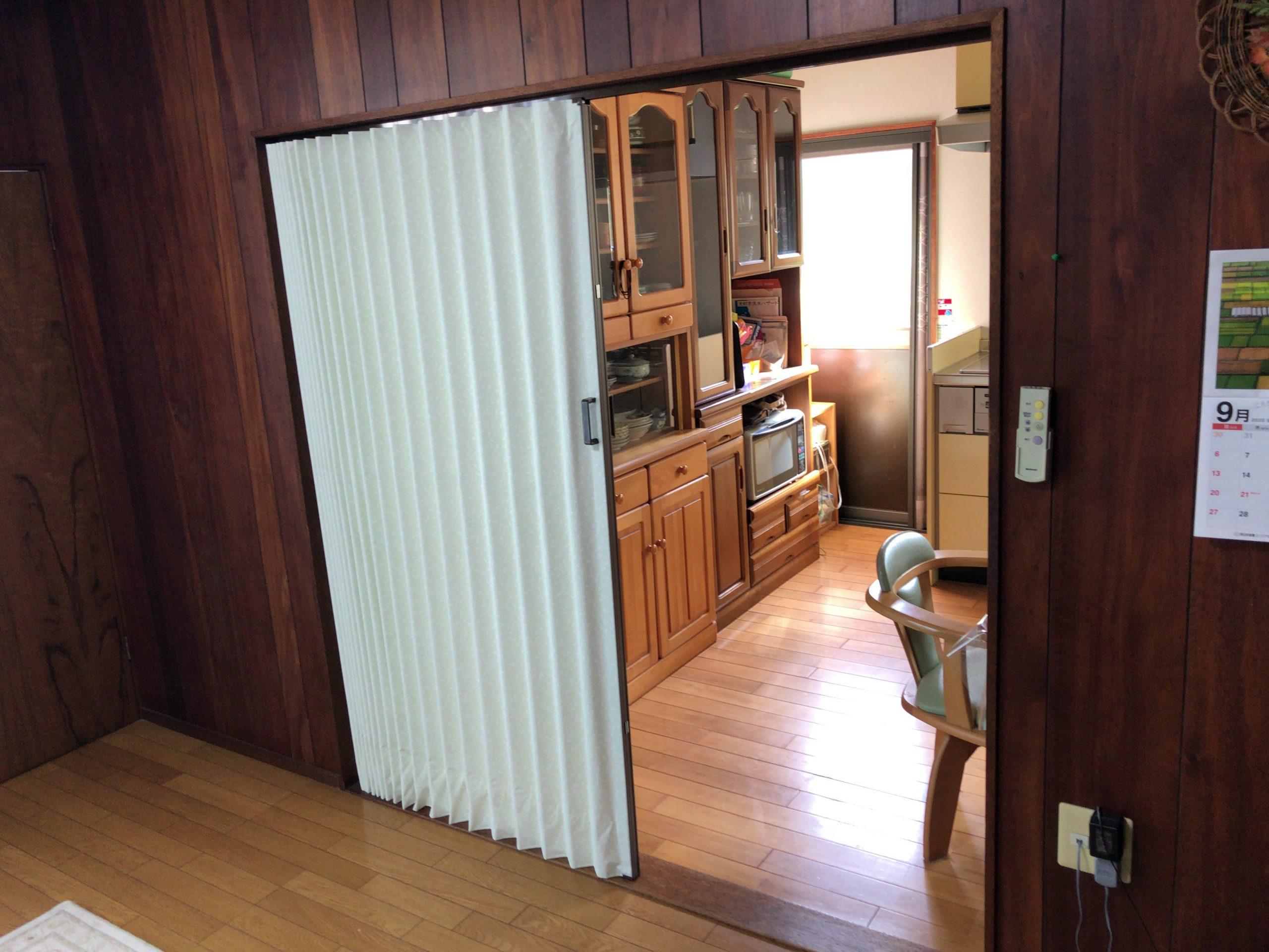 【窓まわり商品】アコーディオンカーテン