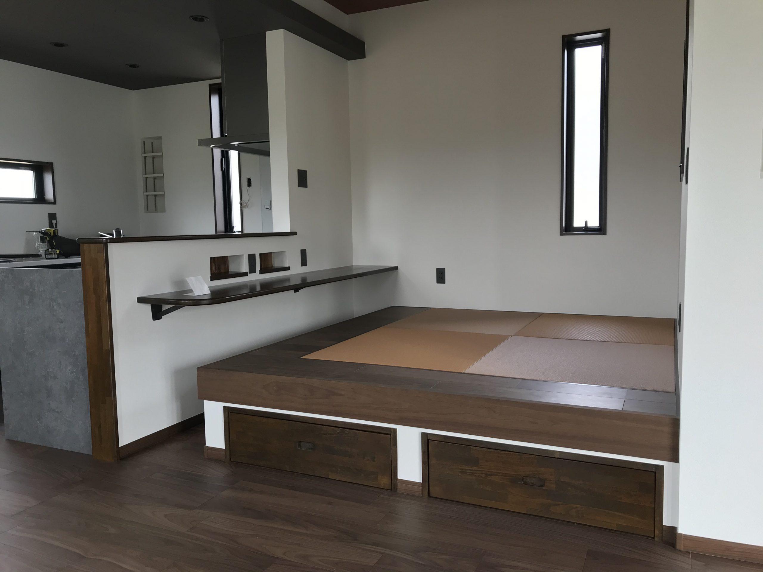 【畳】小上がりの畳コーナー