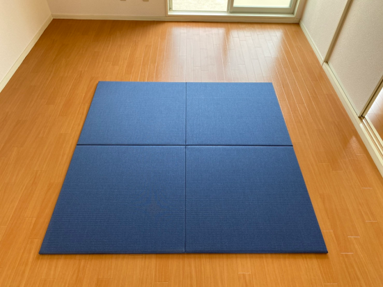 【置き畳】和紙シリーズ 藍