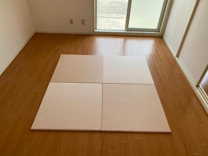 【置き畳】和紙シリーズ 白茶・薄桜