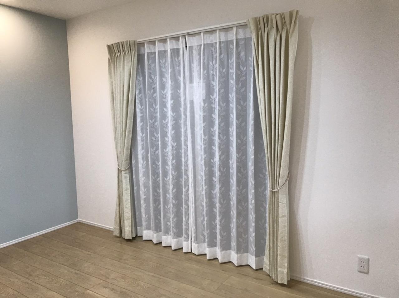 【窓まわり商品】新築カーテン工事
