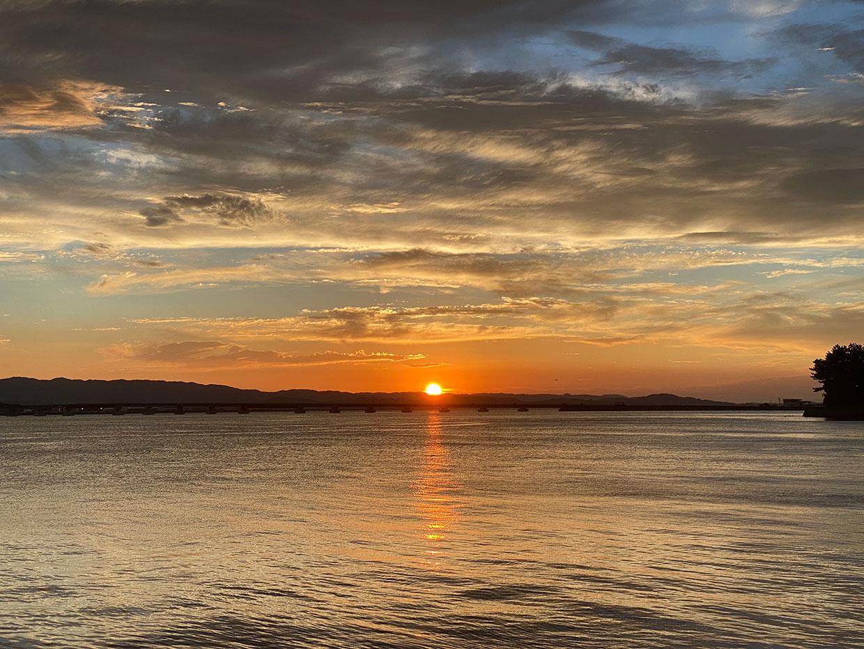 【blog】大村湾から望む風景