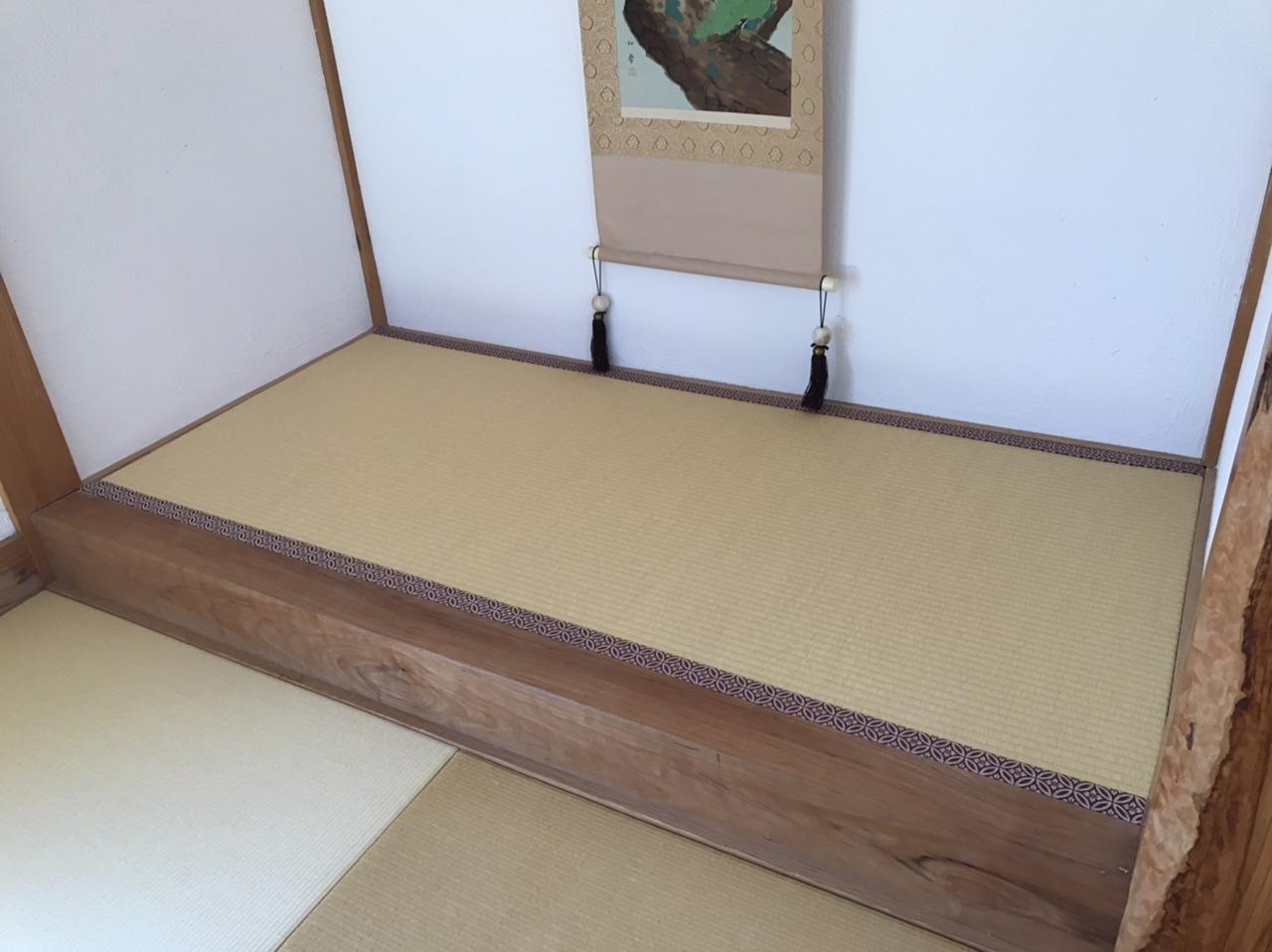 【畳】床の間