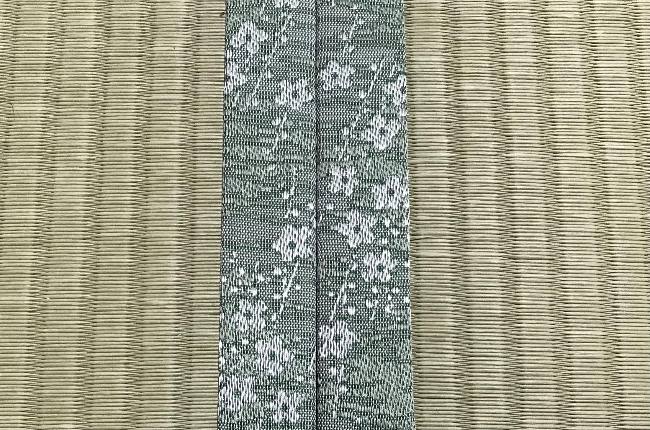 【畳】オリジナル畳縁ハナカオリミドリ